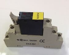OMRON RELAY W/BASE LOT OF 4  G3R-ODX02SN/P2RF-05-E