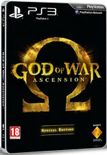 God Of War Ascension Especial Steelbook Edition Ps3 * Nuevo Sellado Pal *