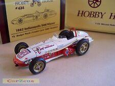 1:43 Hobby Horse, Leader Card 500, 1962 Indianapolis 500 Winner, #3 Rodger Ward