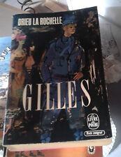 DRIEU LA ROCHELLE. Gilles. Le Livre de Poche. 1962.