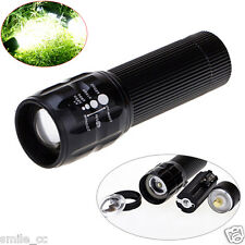 Super Bright Adjustable Focus LED Tactical Flashlight AAA Mini Aluminum Torch