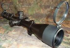 Nikko Target Master 30mm 5-20x50 SF Illuminated LRX Rifle Scope +Caps+ Sunshade