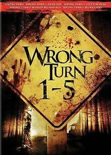Wrong Turn 1-5 New DVD! Ships Fast!