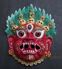 M402 Protector Mahakala Bhairav Wall Hanging Buddhist Hindu MASK NEPAL Tibet