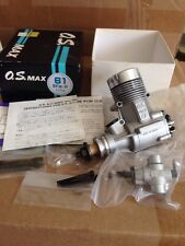 OS Engine Max 61SF-P ABC Pump Nitro Airplane Motor In Box Complete NICE