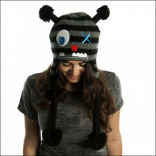 "Freaks & Friends ""Monster"" Laplander Knit Beanie Hat Cap One Size Kids Adult NEW"