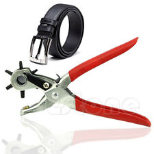 Belt Leather Revolving Strap Hollow Hole Stamp Watch Band Puncher Punch Plier