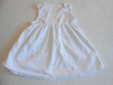 Baby Girl Clothes 3-6 Months - Pretty Velour  Dress - We Combine Postage