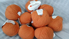 500 g Modern Cotton GEDIFRA smc select Schachenmayr WOLLE  Orange Rot  Fb. 03221