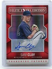 2014 ELITE EXTRA EDITION #71 SAM CLAY AUTOGRAPH AUTO ROOKIE RC #520/799, TWINS