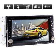 Ventanas INTERFAZ DE USUARIO Doble 2Din 15.7cm GPS Coche Reproductor de DVD NAVI