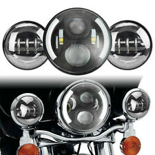 OSRAM Daymaker Headlight Lamp Passing Lights For Harley Softail Deluxe Fatboy