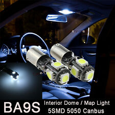 2X Error Free 5 SMD LED SMD White LIGHTs interior MAP For Audi A4 B5 B6 B7 94-08