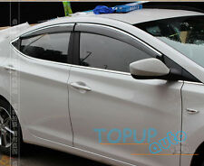 FIT FOR HYUNDAI ELANTRA MD SIDE WINDOW RAIN DEFLECTORS GUARD VISOR WEATHERSHIELD