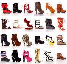 New 24 Pairs Wholesale Lot Women Fashion High Heels Platform Pumps Sandals Shoes