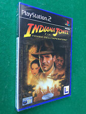 PS2 - INDIANA JONES TOMBA IMPERATORE , Game Playstation PAL ITA - NUOVO !!! NEW