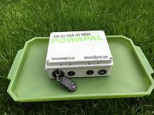 powapal mk3r 12v portable power station for carp fishing bivvy power pack mobile