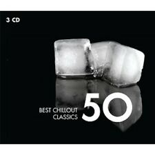 CALLAS/BAKER/PAHUD/MARRINER - 50 BEST CHILLOUT CLASSICS  3 CD CHOPIN/BACH/+ NEU