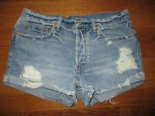 BDG Urban Outfitters Tomgirl Destructed Jean Shorts Size 27