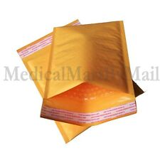 "400 #DVD KRAFT BUBBLE MAILERS 7X9 PADDED SELF SEAL ENVELOPES 7.25"" X 9.75"""