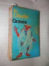 IO CLAUDIO Robert Graves Garzanti 1973 i Garzanti 422 libro romanzo narrativa di