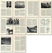 1958 The Battle Of Gettysburg Old Article