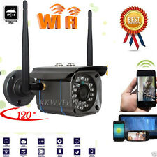 Waterproof Outdoor WiFi Wireless Night Vision Home Security CCTV P2P IP Camera