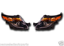 NEW OEM 2011-2013 Ford Explorer SPORT Halogen Headlights PAIR - Black Housing