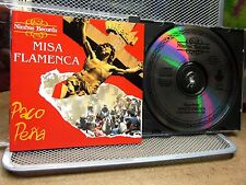 PACO PENA Misa Flamenca CD Spanish flamenco Catholic Mass 1991