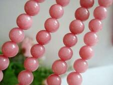 8mm Round RED Rhodochrosite Gemstone Loose Beads 15'' Long AAA