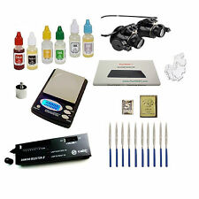 Gold Acid Testing Kit + Electronic Diamond Tester + Digital Test Scale + Glasses