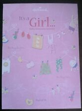 Baby Girl Birth Announcement Sheeted Pad - It's a Girl! - 25 Sheets