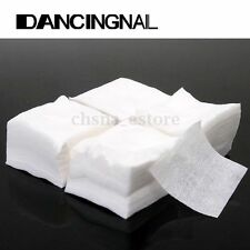 400Pcs Nail Art Tips Polish Remover Cleaner Cotton Wipes Paper Pads Manicure US