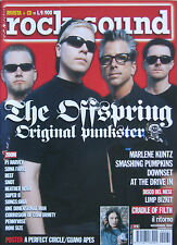 ROCK SOUND 31 2000 Offspring Cradle Of Filth Smashing Pumpkins Downset PJ Harvey