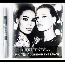 Urban Decay 24/7 VELVET GLIDE-ON EYE PENCIL Deluxe Sample BLACK VELVET
