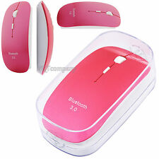 2.4GHz USB Wireless Optical Mouse Mice for Apple Mac Macbook Pro Air PC Rose