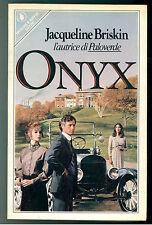 BRISKIN JACQUELINE ONYX SPERLING & KUPFER 1983 I° EDIZ. PANDORA 199