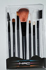 7 PCS MAKEUP BLUSH EYESHADOW LIP BRUSH COSMETIC BRUSHES SET KIT