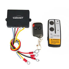 Car Electric Winch Wireless Remote Control System for Jeep Truck ATV Tuff Winch