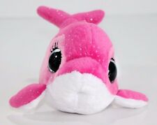 """Ty Beanie Boos SURF the 6"""" Pink Dolphin  2013 RARE & RETIRED Plush Stuffed Pink"""