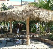 12 Tiki Bar Palm Thatch Umbrella Palapa Round Cover