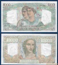 1000 Francs Minerve et Hercule Type 1945 – 15-7-1948 (42) Qualité SUP / SPL