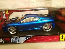 Hot Wheels West Coast Customs Whips 1/18th Ferrari 360 Modena.