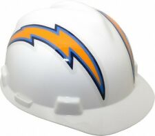 NEW LOS ANGELES CHARGERS HELMET HARD HAT NFL - MSA SAFETY WORKS