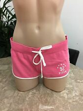 ABERCROMBIE & FITCH CURVED HEM SHORTS Athletic Lounge Gym Beach Womens XSMALL