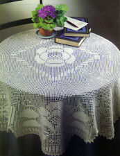 LOVELY Family Treasure Tablecloth/CROCHET PATTERN INSTRUCTIONS ONLY