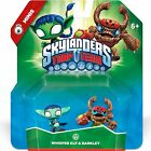 BARKLEY & WHISPER ELF 2-PACK Skylanders Trap Team NEW mini Tree Rex Stealth Elf