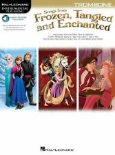 Songs From Frozen, Tangled And Enchanted: Trombone (Book/Online Audio)