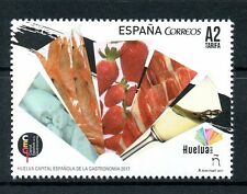 Spain 2017 MNH Huelva Capital of Gastronomy 1v Set Food Cuisine Stamps