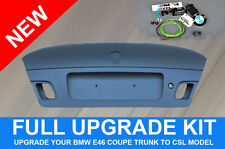 NEW ORIGINAL BMW E46 COUPE UPGRADE KIT TRUNK LID CSL M3 LUGGAGE OEM 41007895884